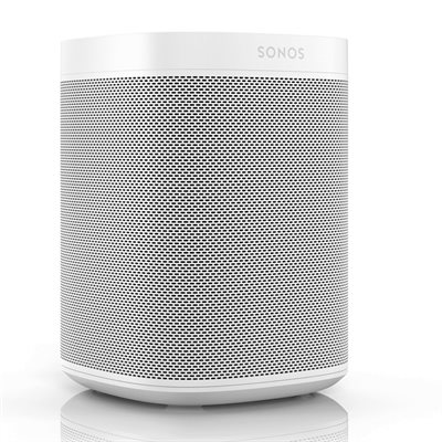 Sonos One Voice Controlled Speaker Gen 2 (single, white)