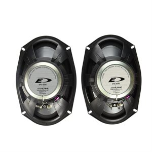 "Alpine 6x9"" Coaxial 2-Way Speaker Set"