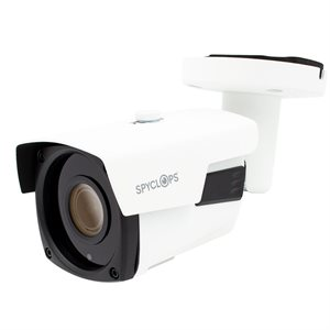 Spyclops WHITE BULLET UNII-MNT AF IP POE 5MP CAMERA(white)
