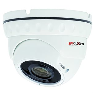 Spyclops MANUAL VARIFOCAL DOME CAMERA (white)