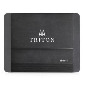 Triton Audio 1x1600W Mono Class D Amplifier, 1-Ohm