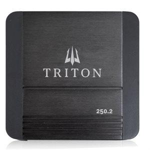 Triton Audio 250W Two-Channel Class D Amplifier, 4-Ohm