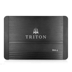 Triton Audio 800W Four-Channel Class D Amplifier, 4-Ohm