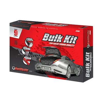 "Ballistic 9-Piece 18""x32"" Universal Bulk Damping Kit"
