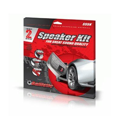 "Ballistic 2-Piece 10""x10"" Speaker Damping Kit"