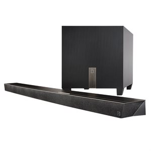 Def Tech 3.1 Ch.l Ultra Slim SoundBar w /  wireless sub & BT