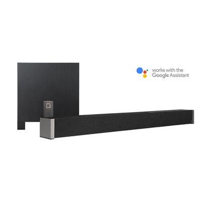 Def Tech 5.1 Channel Ultra Slim Soundbar dolby Digital w /  wireless Sub