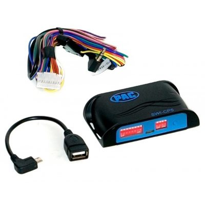 PAC Steering Wheel Control Adapter with Programmability
