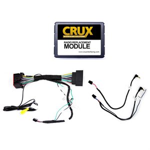 Crux 2013+ Dodge / Jeep / Ram Interface with SWC Retention
