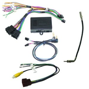 CRUX Radio Replacement Interface with Steering Wheel Control Retention for GM LAN v2