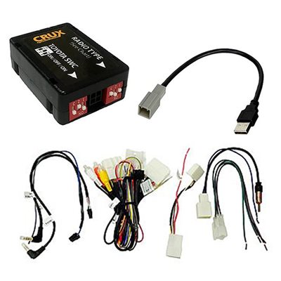 Crux 2012+ Toyota Radio Interface with SWC and RVC Retention