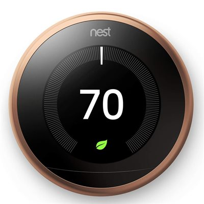 Nest Learning Thermostat 3rd Generation (Cooper)