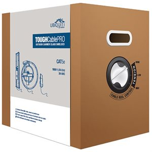 Ubiquiti TOUGH Cable Cat 5e Shielded Cable 1,000' Box