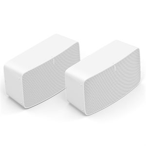 Sonos Two Room Set with Two FIVE1US (white)