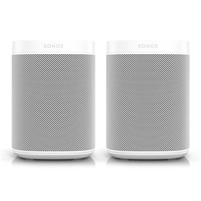 Sonos Two Room Set with Two Sonos Ones (white)