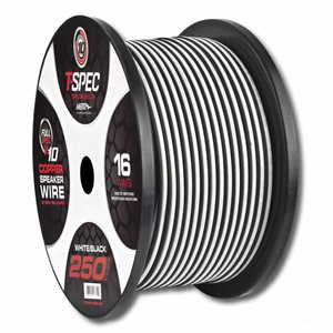 T-Spec v10 16 ga Speaker Wire 250' Spool (w / b)