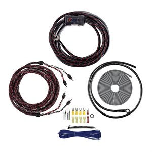T-Spec V12 8 AWG 950W Amplifier Kit with RCA