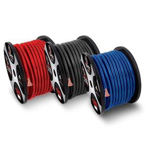 T-Spec v8GT Series 8 ga OFC Power Wire 250' Spool (black)