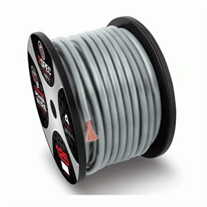 T-Spec v8 4 ga Power Wire 125' Spool (silver)
