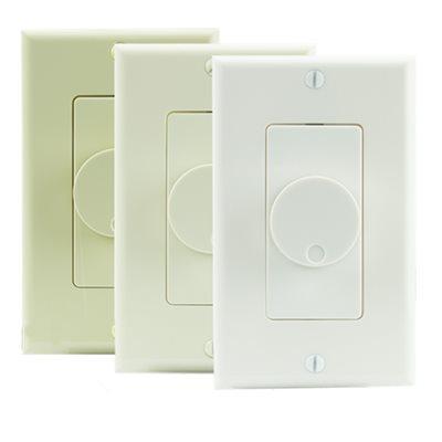 TruAudio 70V Decor Volume Control w / Knob (almond / ivory / white