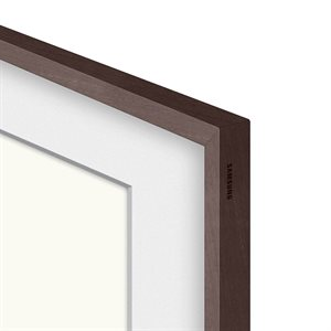 "Samsung 43"" Customizable Frame for 2021 Frame TV (Modern Brown)"