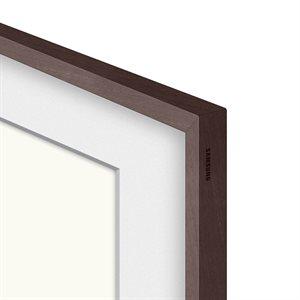 "Samsung 50"" Customizable Frame for 2021 Frame TV (Modern Brown)"