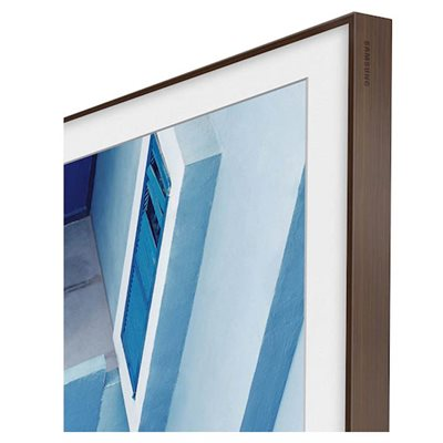 "Samsung 55"" Customizable Frame for 2020 Frame TV (brown)"
