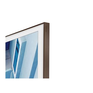 "Samsung 49"" Customizable Frame for Frame TV (brown)"