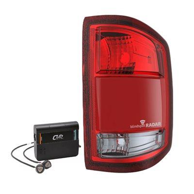 CUB 2014-2015 Chevy Silverado 1500 Tail Lamp IntegratedBSD