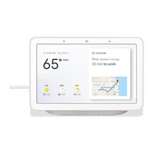 Google Home Hub w /  Google Assistant (chalk)