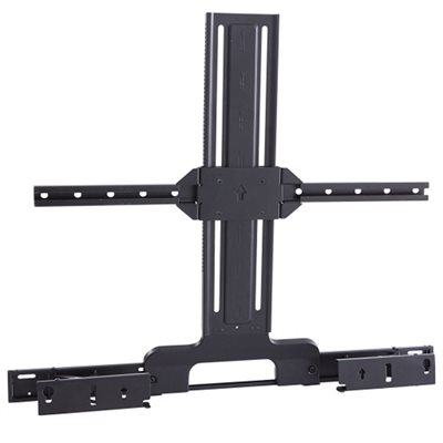 Sanus Soundbar TV Mount Designed for Sonos Arc Sound bar (black)
