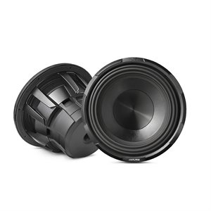 "Alpine 10"" Subwoofer X-series (4-Ohm+4-Ohm)"