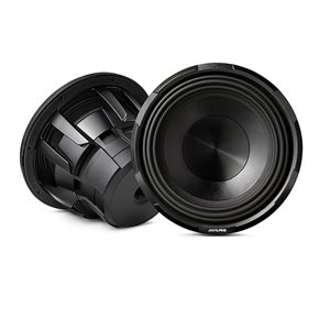 "Alpine 12"" Subwoofer X-series (4-Ohm+4-Ohm)"