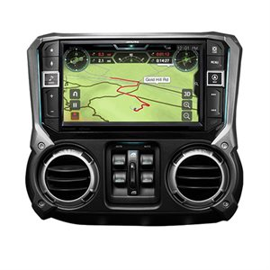 "Alpine 9"" Weather-Resistant Mech-less Navigation System with Off-Road Mode"
