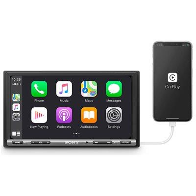 """Sony 6.95"""" Apple CarPlay / Android Auto Media Receiver"""