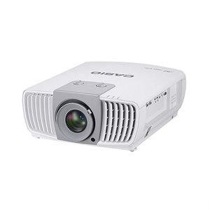 Casio 4K HD Projector 5000 lumens w /  1.5X Zoom (Mount. VCM103s,  or VCT Large Venue Mount)