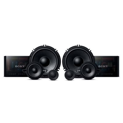 """Sony GS Series 6.5"""" 3-Way Component Speaker System (pair)"""