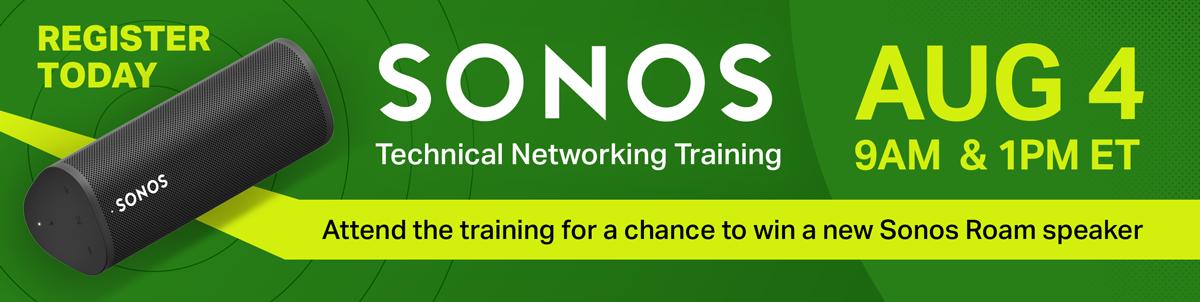 Sonos Training